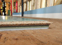 rigid acoustic wood insulation panel ELECOFLOOR® Eleco Timber Engineering