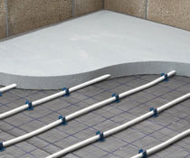 rigid expanded polystyrene insulation panel for underfloor heating GRIDSHIELD Springvale