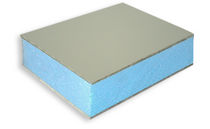rigid extruded polystyrene insulation panel ALU-STY Cel Components s.r.l.