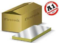rigid fire-retardant stone wool insulation panel FIREROCK ROCKWOOL