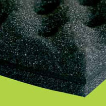 rigid foam acoustic insulation panel with lead plate AKUSTIK GUM FOAM N.D.A. NUOVE DIMENSIONI AMBIENTALI