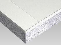 rigid gypsum plasterboard insulated panel with expanded polystyrene DOUBLISSIMO British Gypsum Limited
