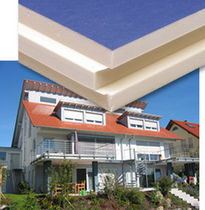 rigid polyurethane foam insulation panel for roof PUREN ST-BLAU puren gmbh
