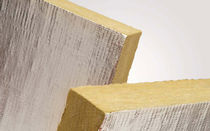 rigid rock wool insulation panel with aluminium facing (thermal and acoustic) PYRODUCT SLAB KNAUF Insulation
