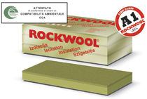 rigid stone wool insulation panel for roofs (thermal and acoustic) DUROCK C ROCKWOOL