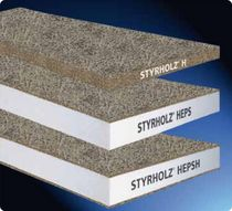 rigid thermal insulation panel in woodwool cement STYRHOLZ sirap insulation