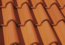 roman interlocking clay roof tile MÖNCHPFANNE ERLUS