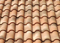 roman interlocking clay roof tile PORTOGHESE - ANTICA ROCCA COTTO SENESE