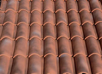 roman interlocking clay roof tile FRANCIGENA MILLENNIUM COTTO SENESE