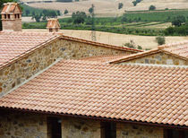 roman interlocking clay roof tile FRANCIGENA - CRETE SENESI COTTO SENESE