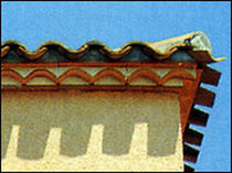 roof cornice (genoese) GENOISE  IMERYS Structure