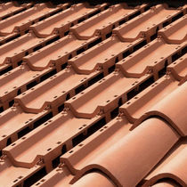 roof tile for photovoltaique module BASIC: TERRACOTTA TECH TILE