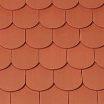 round-cut plain roof tile in clay SAKRAL Creaton AG