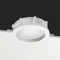 round fluorescent downlight (recessed, compact) ORIS IP44 BUZZI & BUZZI