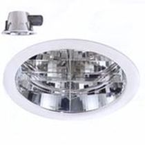 round fluorescent downlight (recessed, compact) RAPIDO 330 SICA