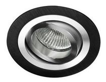 round recessed ceiling halogen spotlight (adjustable) HELIUM  Cristalrecord