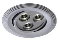 round recessed ceiling LED spotlight (adjustable, low voltage) GEO C Cristalrecord