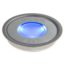round recessed floor LED spotlight MULTI BUE ROUND Eyeleds