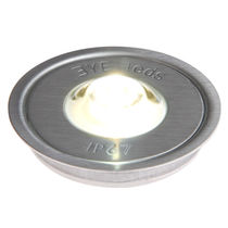 round recessed floor LED spotlight POWEREYE 360 WW Eyeleds