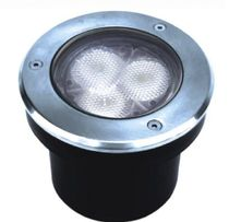 round recessed floor LED spotlight MONESTIR IGNIA LIGHT