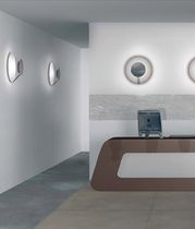 round wall mounted fluorescent luminaire VEGA (C-W) by CS&amp;R Tre Ci Luce TRE CI LUCE