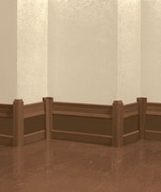 rubber baseboard (FloorScore® certified, low VOC emissions) BASEMATES® Roppe Corporation