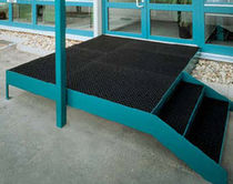 rubber entrance mat with dust control for commercial building KARO AS Geggus EMC