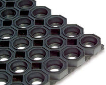 rubber entrance mat with dust control for commercial building KARO AS B1/Q1 Geggus EMC