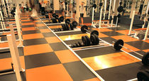 rubber flooring for fitness areas SPORT IMPACT MONDO