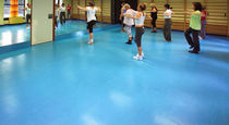 rubber flooring for fitness areas MONDOFLEX MONDO