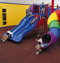 rubber flooring for playgrounds  POLIGOMMA SRL