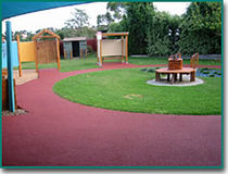 rubber flooring for playgrounds WET POUR Flexitec