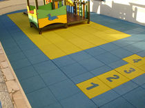 rubber flooring for playgrounds EPDM CARMO