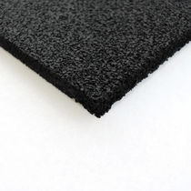rubber insulation panel (anti-vibrations) ISOLMANT DAMP. TECNASFALTI (ISOLMANT)