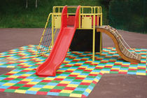 rubber tile for playground  GAROCHUT® WATTELEZ