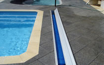 safety pool cover WINNING HIDEAWAY Elite Pool Covers