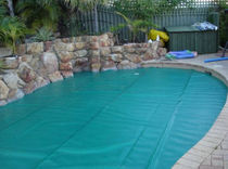 safety pool cover EAZY ROLLER� Elite Pool Covers