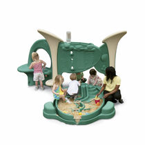 sandbox for playground FIRSTPLAY&amp;trade; : TODDLER DESIGN #4 PLAYWORLD