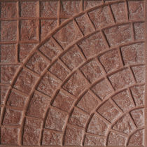 sandstone paving tile for exterior floors MONOGARDEN : PAVE FOGAZZA PAVIMENTI