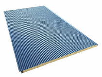sandwich panel: metal and polyurethane core (PUR) NILHO Europerfil