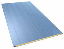 sandwich panel: metal and polyurethane core (PUR) RODAS Europerfil