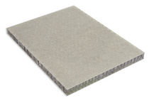 sandwich panel: fiberglass aluminium honeycomb ALUSTEP 500 LIGHT Cel Components s.r.l.
