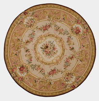 Savonnerie round rug NAMUR 32 TISCA ITALIA
