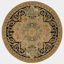 Savonnerie round rug NAMUR 04 TISCA ITALIA