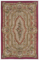 Savonnerie rug in wool NAMUR 82 TISCA ITALIA