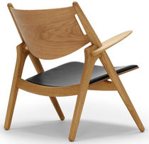 scandinavian design armchair CH28 by Hans J. Wegner  Carl Hansen & Son