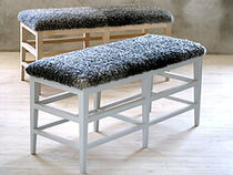 scandinavian design upholstered bench F&Aring;R&Ouml; G.A.D