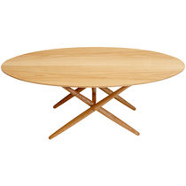 scandinavian design wood table OVALETTE by Ilmari Tapiovaara Artek