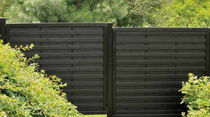 screening fence in certified wood (FSC-certified) BREHAT Silverwood