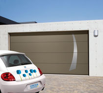 sectional automatic garage door CARSEC PRO SOPROFEN SAS